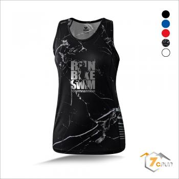 RACE LINE Running Singlet DAMEN run bike swim - 7CRun EUROPE collection
