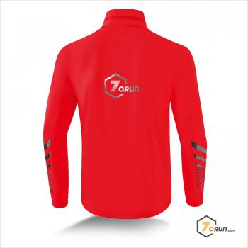 Race Line Running Jacke - 7CRun collection - rot