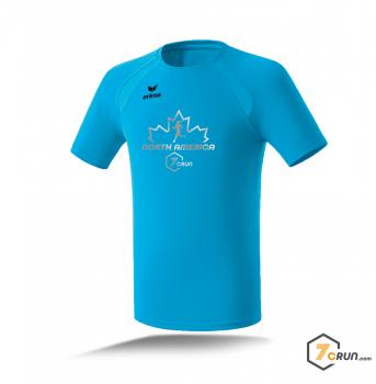 ATHLETIK Running Shirt HERREN - Maple Leaf - NORTH AMERICA collection - curacao
