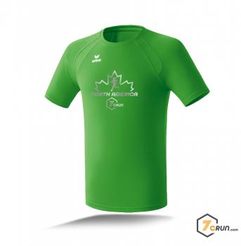 ATHLETIK Running Shirt HERREN - Maple Leaf - NORTH AMERICA collection - green