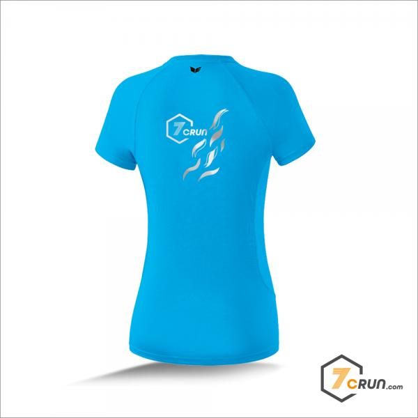 ATHLETIC Running Shirt DAMEN Waben - 7CRun AFRICA collection - curacao