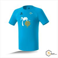 ATHLETIK Running Shirt HERREN - Palm Tree - SOUTH AMERICA collection - curacao
